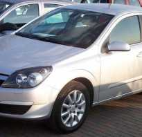 Opel Astra h замена масла